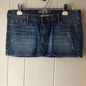 {Hollister} Denim Skirt sz 5